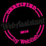 certificaat webassistant KOMTvanPAS